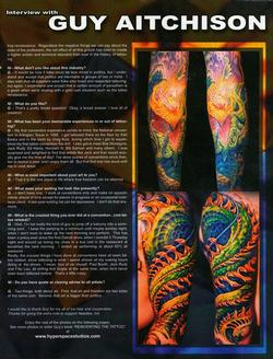 Tattoos - Needles, Ink., 2002, Page 3 - 72152