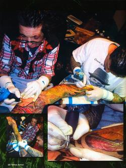 Tattoos - Tattoo Artist Mag feature, 2003, Page 5 - 72184