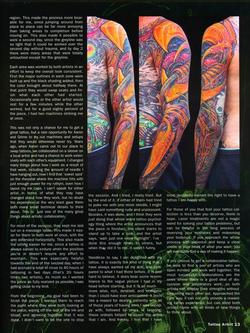Tattoos - Tattoo Artist Mag feature, 2003, Page 8 - 72181