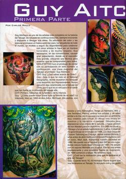 Tattoos - Chile feature, 2004, Page 1 - 72192