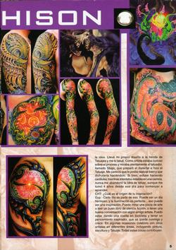 Tattoos - Chile feature, 2004, Page 2 - 72191