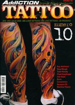Tattoos - Argentina Feature, 2005, Cover - 72199