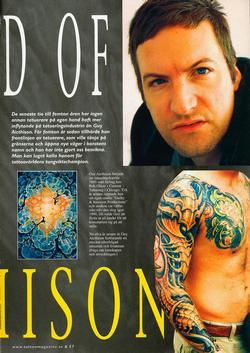 Tattoos - Scandinavian article, 2006, Page 2 - 72266