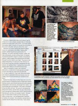 Tattoos - MacLife article, 2009, Page 2 - 72356