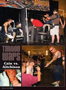 Tattoos - Tattoo Wars - Tattoo Mag, 2008, Page 3 - 72327