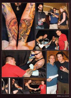 Tattoos - Tattoo Wars - Tattoo Mag, 2008, Page 4 - 72326