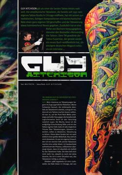 Tattoos - German Article, 2006, Page 2 - 72242