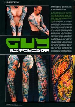 Tattoos - German Article, 2006, Page 3 - 72241