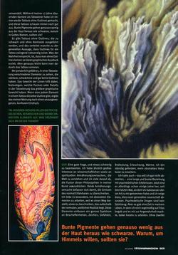 Tattoos - German Article, 2006, Page 6 - 72238