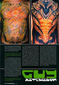 Tattoos - German Article, 2006, Page 7 - 72237