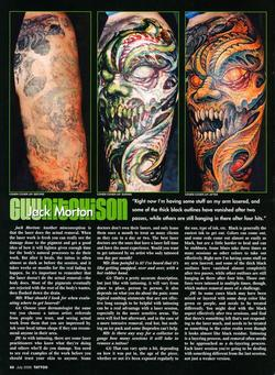 Tattoos - Laser Article, Tattoo Mag, 2006, Page 3 - 72233