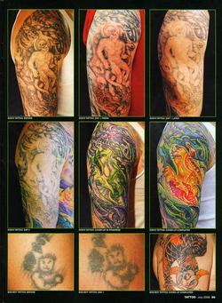 Tattoos - Laser Article, Tattoo Mag, 2006, Page 4 - 72232