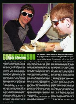 Tattoos - Laser Article, Tattoo Mag, 2006, Page 5 - 72231