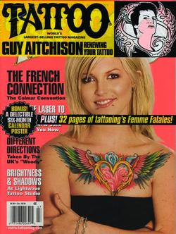 Tattoos - Laser Article, Tattoo Mag, 2006, Cover - 72229