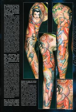 Tattoos - Poland Tattoofest Magazine, 2009, Page 2 - 72353