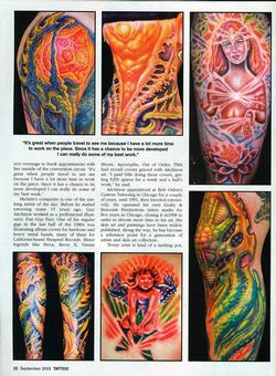 Tattoos - Aitchison/Wortman, Tattoo Magazine, 2003, Page 3 - 72166