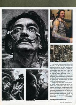 Tattoos - Scratch Art, Tattoo Mag, 2008, Page 2 - 72316