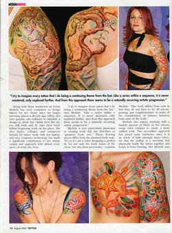 Tattoos - Wortman, Tattoo Magazine, 2006, Page 2 - 72216