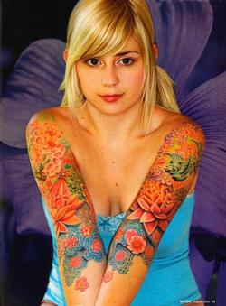 Tattoos - Wortman, Tattoo Magazine, 2006, Page 3 - 72215
