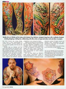 Tattoos - Wortman, Tattoo Magazine, 2006, Page 4 - 72214