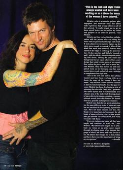 Tattoos - Wortman, Tattoo Mag, 2008, Page 3 - 72313