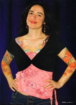 Tattoos - Wortman, Tattoo Mag, 2008, Page 4 - 72312