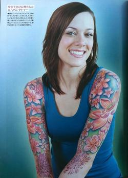 Tattoo-Books - Wortman - Japan, Tattoo Burst Magazine, 2011, Page 3 - 72381