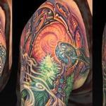 Wonka Weed Web Tattoo Thumbnail