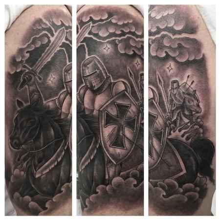 Tattoos - Knight of Templar - 108892