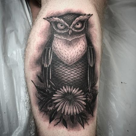 Tattoos - Owl - 108908
