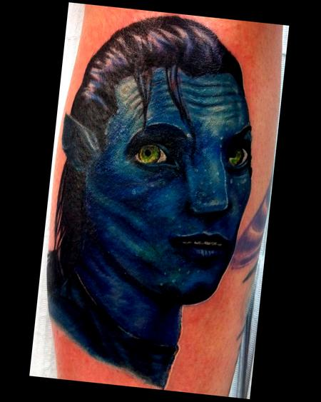 Haley Adams - avatar tattoo