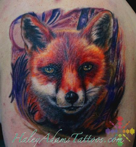 fox tattoo Design Thumbnail