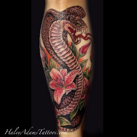 Tattoos - snake tattoo  - 106739