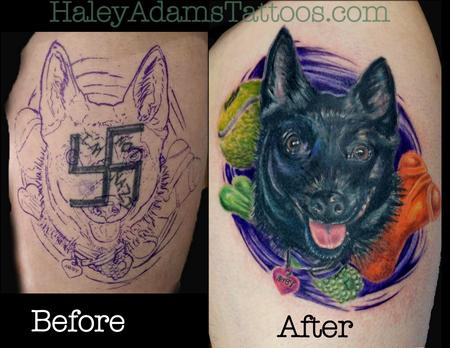 Before and After  Tattoo Design Thumbnail