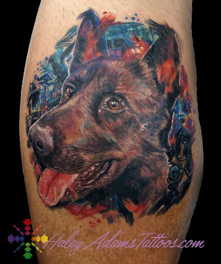 A loved pup. :) Mr. Donar Marcona Tattoo Design Thumbnail