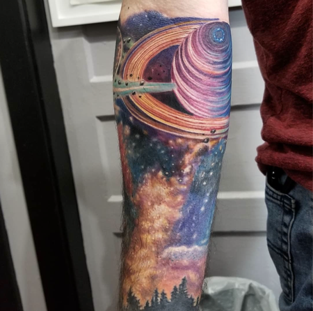 Tattoos - Space tattoo - 132524