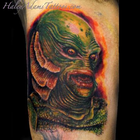Creature of the Black Lagoon tattoo Tattoo Design Thumbnail