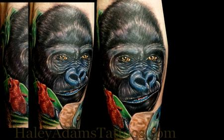 Tattoos - gorilla tattoo - 87362
