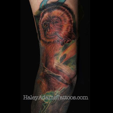 Tattoos - Monkey Tattoos - 101272