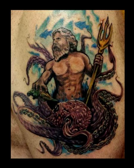 Tattoos - Poseidon - 89012