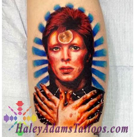 Tattoos - David Bowie tattoo - 116852