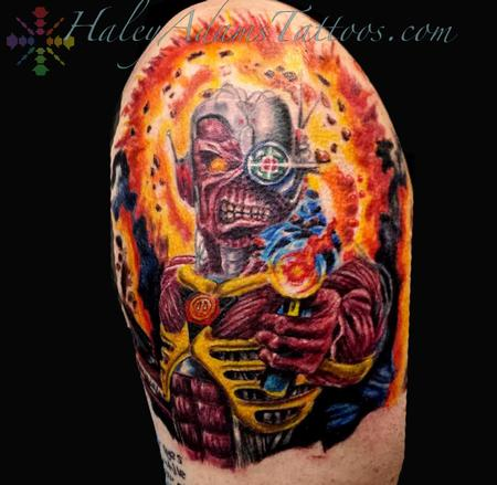 Iron Maiden Tattoo Design Thumbnail