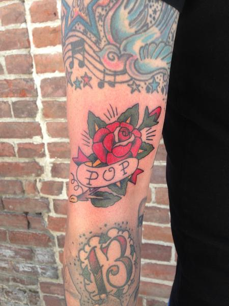 691a5d206 Off the Map Tattoo : Haley Gogue : Tattoos : Page 1