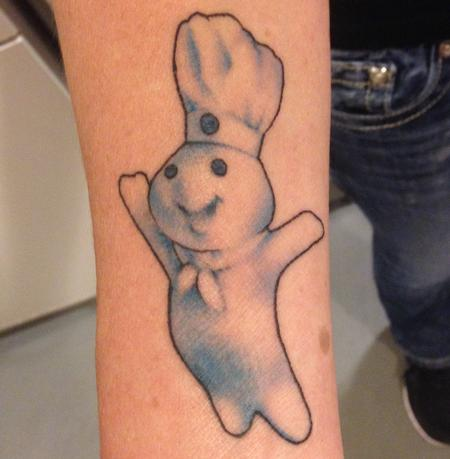 Tattoos - Pillsbury Dough Boy - 104795