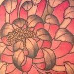 Chrysanthemum  Tattoo Design Thumbnail