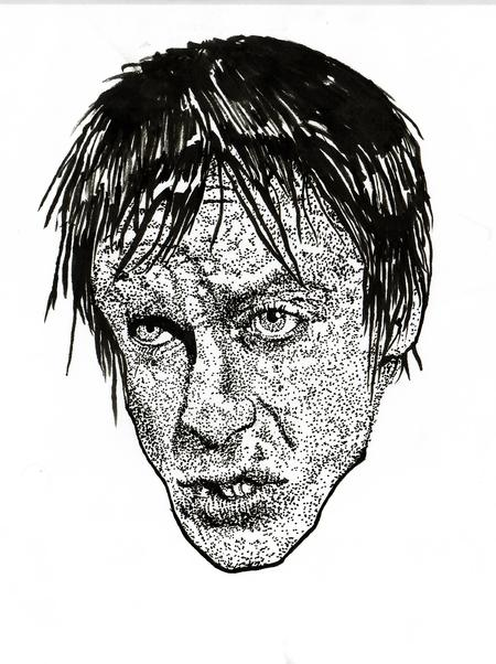 Ben Licata - Iggy Pop sketch