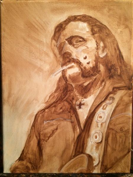 Tattoos - Lemmy Underpainting - 112201