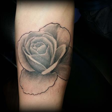 Tattoos - Realistic Rose cover up  - 102400