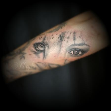 Cheetah Eyes Tattoo Design Thumbnail
