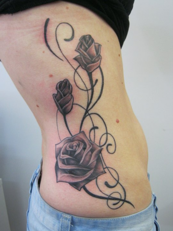 Looking for unique Kelly Marshall Tattoos Black and Gray Roses Tattoo